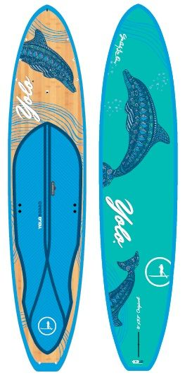 Oh yes they did! 2015 YOLO Original Dolphin Board.