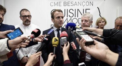 Politique - Premier meeting d'En Marche aujourd'hui à Strasbourg Macron dresse l'état de la France - Est Républicain