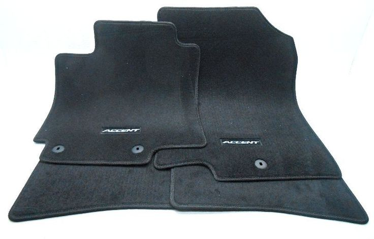 awesome Amazing New OEM 2012-2016 Hyundai Accent Hatchback Floor Mat Set Black - 1RF14-AQ000 2017 2018 Check more at http://24carshop.com/product/amazing-new-oem-2012-2016-hyundai-accent-hatchback-floor-mat-set-black-1rf14-aq000-2017-2018/