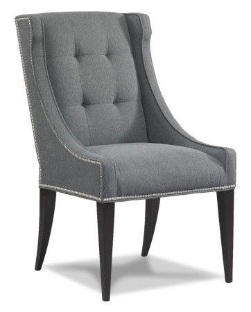 Louis J Solomon Tufted Dining Chair