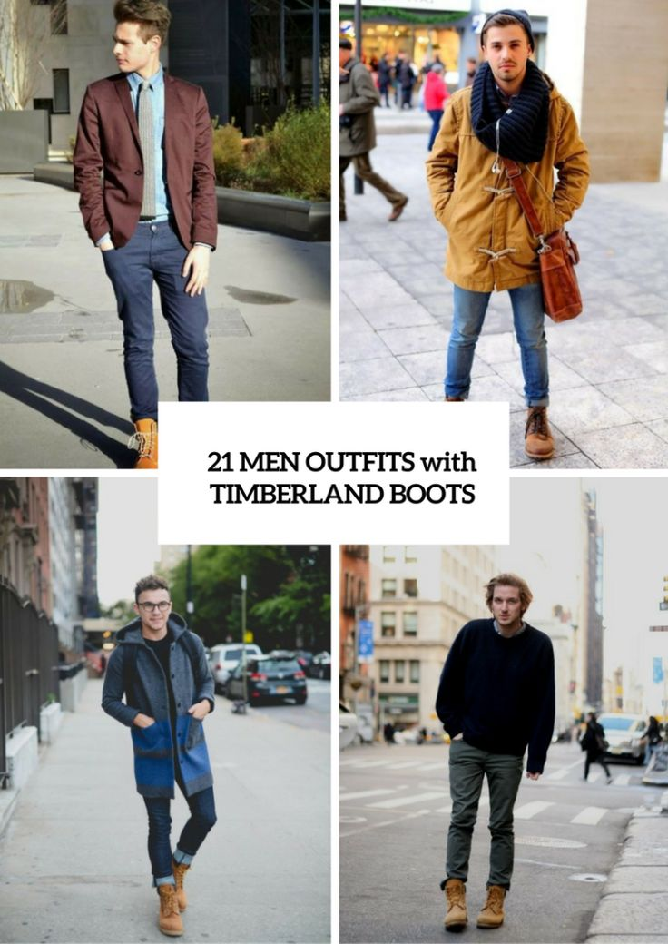 nice 21 Fall And Winter Outfits With Timberland Boots For Men