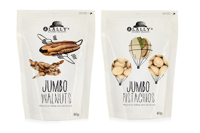J Lally gourmet delights were designed for an airline retail market. Retail In Motion did a superb job at executing the travel concept to fit the airline retail company.