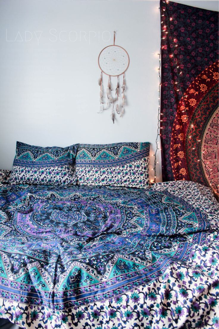 Lady Scorpio Inspire Your Inner Gypsy Bohemian Mandala Tapestries || Bedroom  Inspiration Www.LadyScorpio101