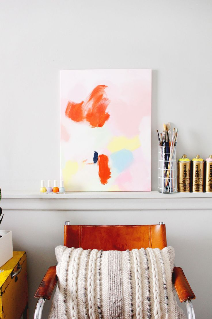 452 best DIY Wall Art from Brit + Co images on Pinterest | Diy wall ...