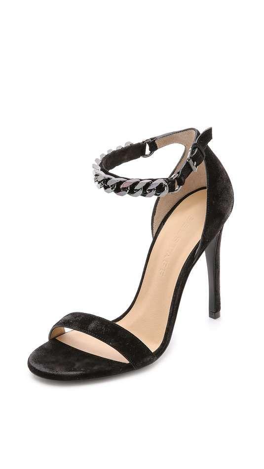 Belstaff | Viviane Waxed Suede Heels #belstaff #heels