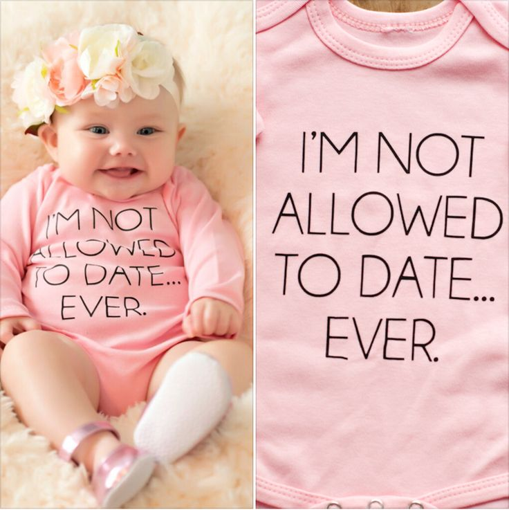 If I ever were.to have another girl, her daddy would make her wear this everyday