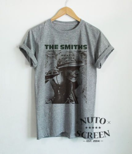 THE-SMITHS-SHIRT-MEAT-IS-MURDER-INDIE-ROCK-MUSIC-T-SHIRT-VINTAGE-RETRO-MORRISEY