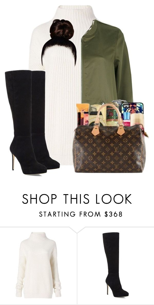 """""""Drop snapchat names if you want me to add you :)"""" by gloria-ngetich ❤ liked on Polyvore featuring Diane Von Furstenberg, Jimmy Choo and River Island"""