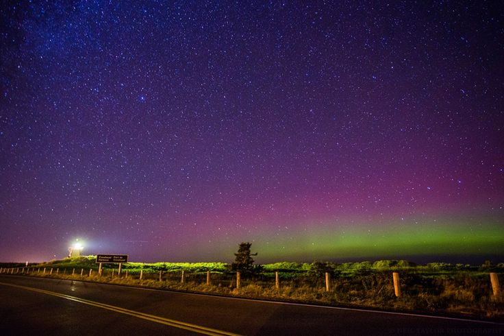 Here on PEI, we offer more colors then just our red dirt, lush grass and blue skies. Being in the right place at the right time to experience the Northern Lights can leave you starstruck.