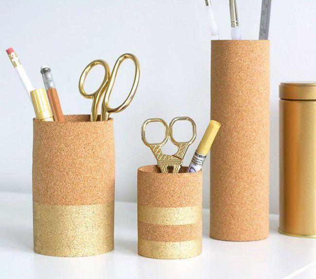 Como hacer porta lápices reciclando | Todo Manualidades