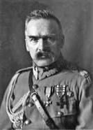 HIstory: This is a picture of Piłsudski. He lead the Polish army with austria against Russia when Russia took over during world war 1. Most of the russians were out of poland by 1915. In 1917, Dmowski created the Polish National Committee in Paris to win support for an independence in Poland. Then in 1918 poland was independent.