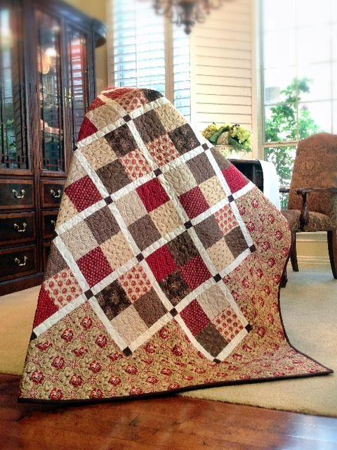 428 best quilt block patterns images on Pinterest | Projects ... : savannah quilt - Adamdwight.com
