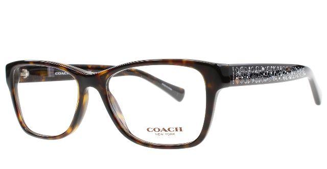 New Coach Eyeglasses Women HC 6068T Tortoise 5120 HC6068T 52mm ...