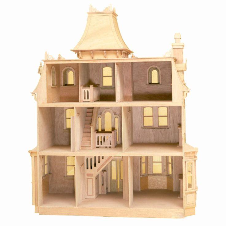 Line Art Dollhouse : Greenleaf beacon hill dollhouse kit inch scale