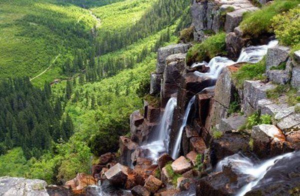 Krkonoše Mountains - Pančava Waterfall