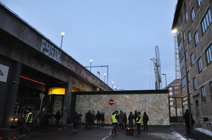 "Vernissage of my mural ""Robotter i Osteby"""