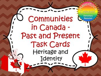 Looking for a great way to review or assess the grade 6 Ontario social studies unit Heritage and Identity: Communities in Canada, Past and Present? Check out these task cards! These 20 task cards cover a range of curriculum expectations and content information (definitions of key terms [ethnic group, immigrant, entrepreneur], Canadian identity and symbols, types of communities in Canada and contributions of different communities).