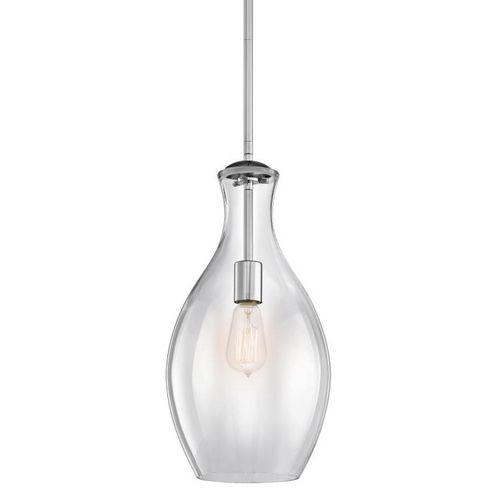 57 best kichler lighting images on pinterest light fixtures kichler lighting clear teardrop glass pendant light in chrome aloadofball Gallery