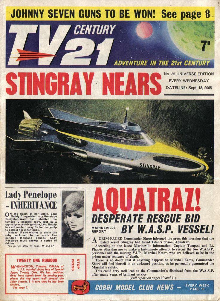 TV Century 21 issue number 35
