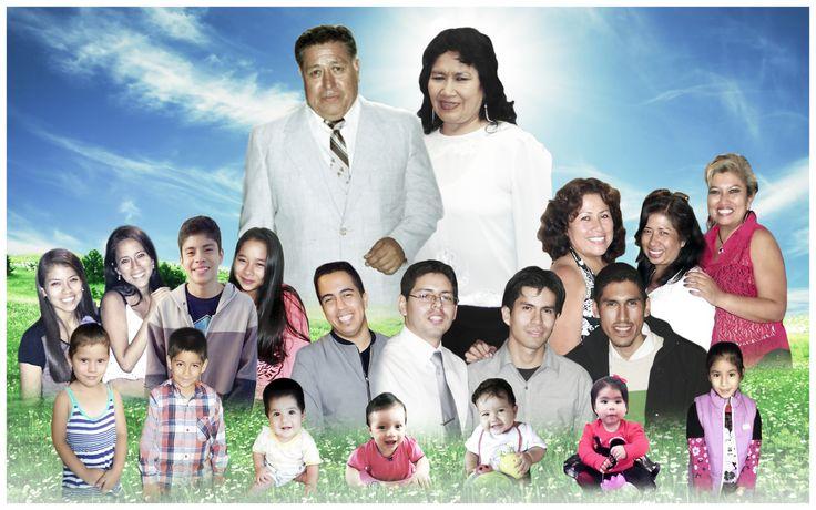 Foto montaje familiar familia Virhuez :)
