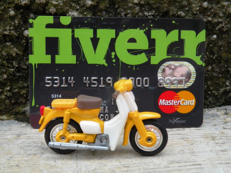 mashengky: put your sign with my honda cub bike for $5, on fiverr.com