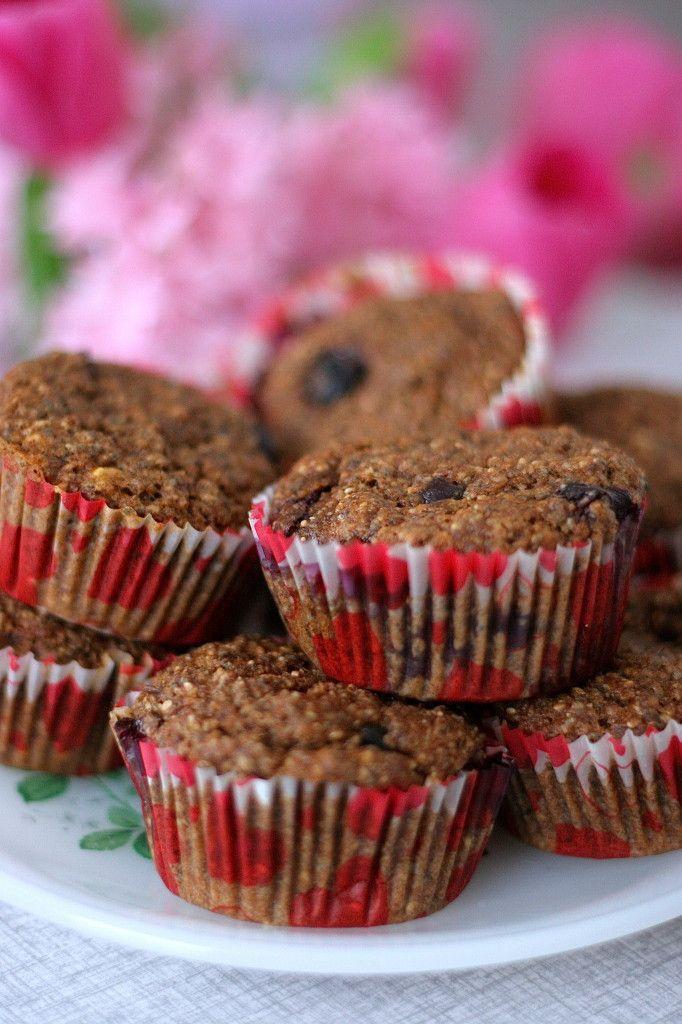 Gezonde bosbessen muffins - Groene meisjes :)