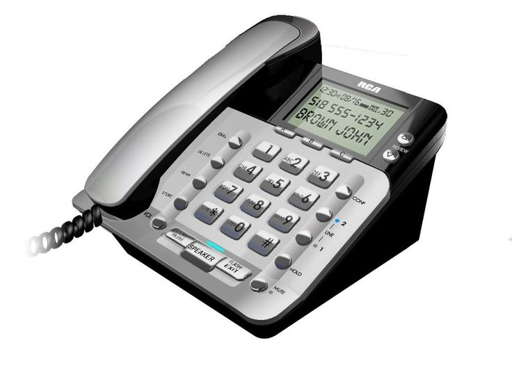 Rca 1223 1bsga 2 Line Corded Caller Id Speakerphone
