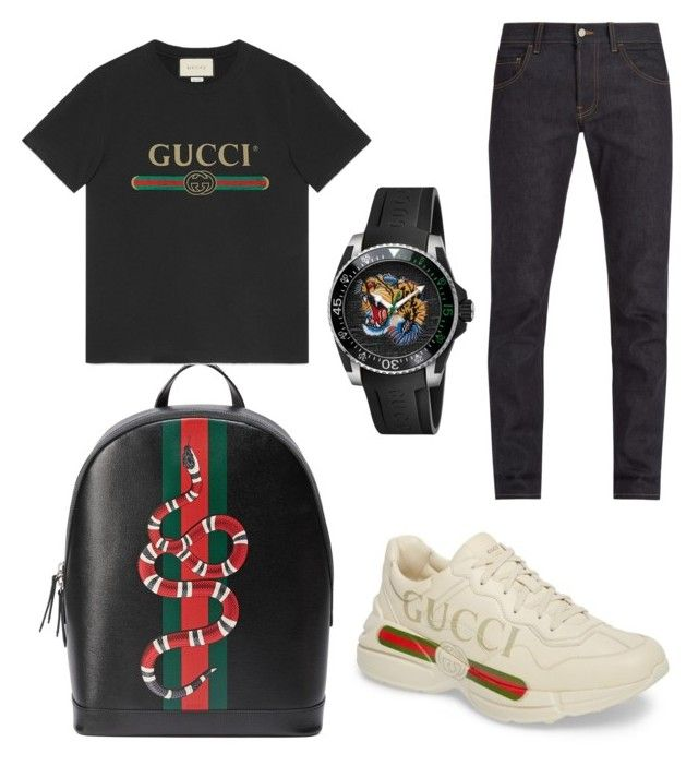 """""""Untitled #21"""" by westboorg-e on Polyvore featuring Gucci"""