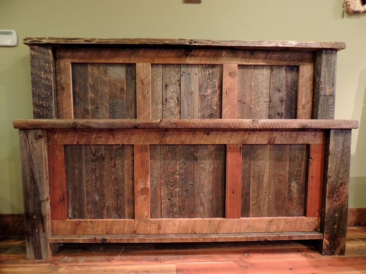 17 Best Images About Barnwood Beds On Pinterest Wood