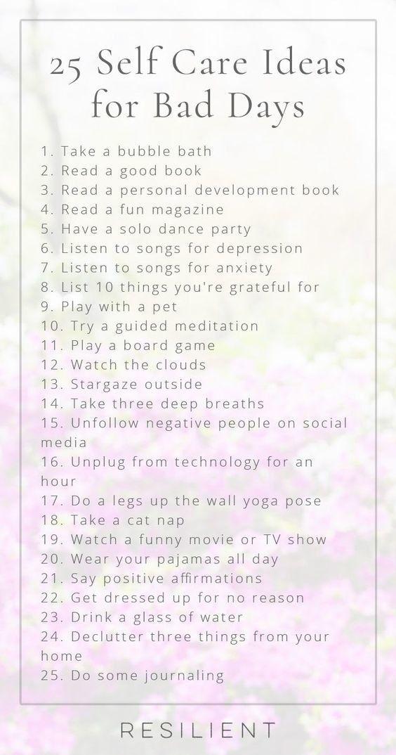 Hier sind nur ein paar Ideen zur Selbstpflege. Mit diesen 27 Self-Care-Diagrammen werden Sie …   – Self-care