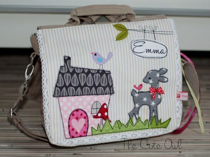 *Rehlein+am+Waldrand*+Kindergarten-Rucksack/Tasche+von+The+Cute+Owl+auf+DaWanda.com