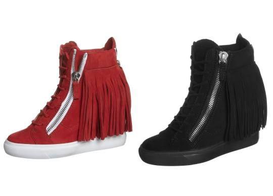 Giuseppe Zanotti Botines De Cuña Circo botas y botines Zanotti Giuseppe CUÑA Circo Botines Noe.Moda