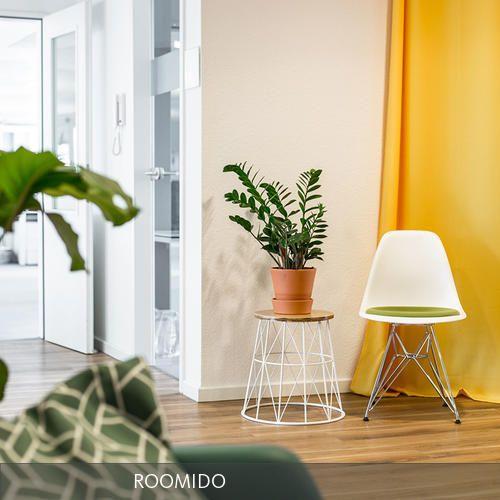 Eingangsbereich des ROOMIDO Büros nach dem Make-over