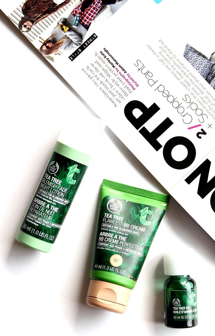 3 best products for #acne prone skin! @thebodyshopusa