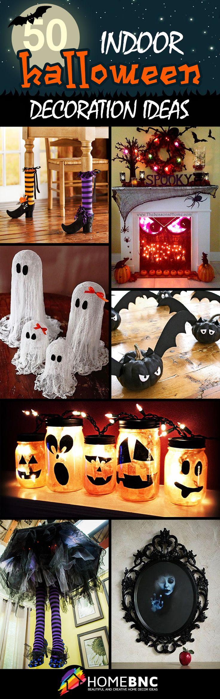 17 Best Ideas About Indoor Halloween Decorations 2017 On: scary halloween decorating ideas inside