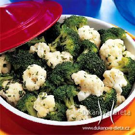 Brokolicovo-květákový salát Dukanova dieta
