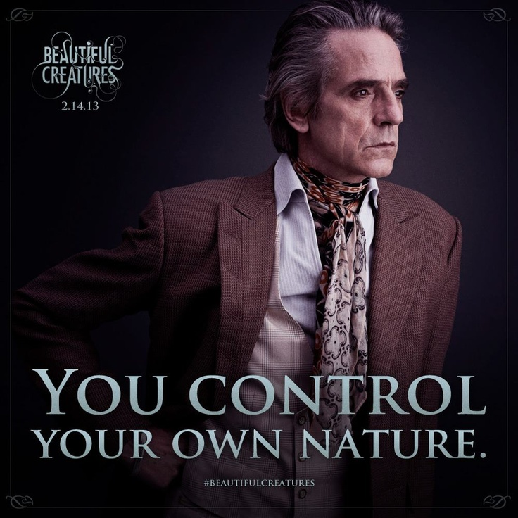 """""""Like"""" if you agree with these wise words from #BeautifulCreatures' #MaconRavenwood (#JeremyIrons)."""