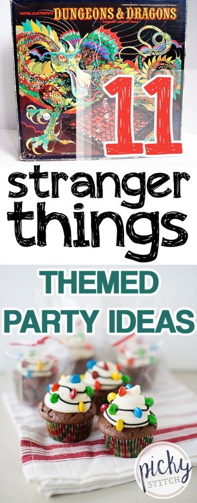 11 Stranger Things Themed Party Ideas