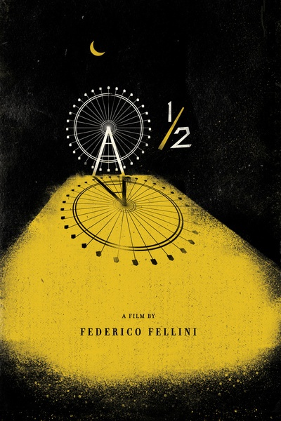 8 1/2 by Federico Fellini. I wish I could have made this film.