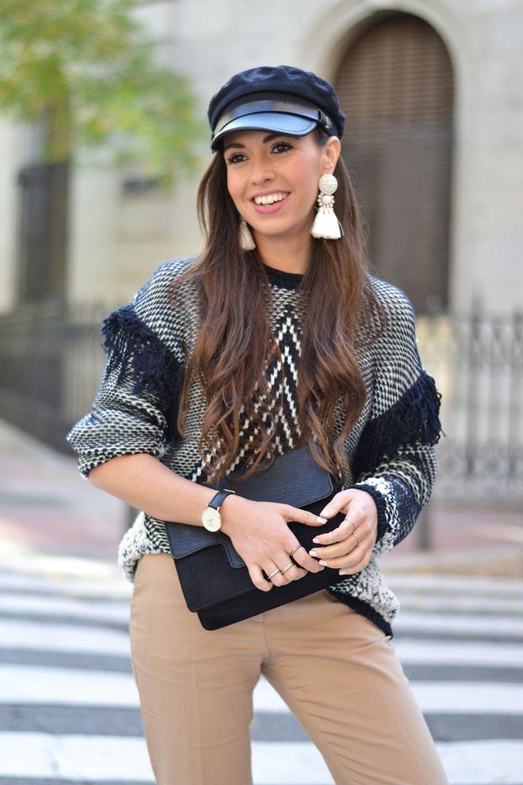 Street style, military cap #kissmylook