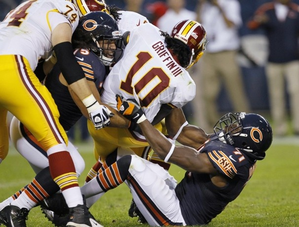 Robert Griffin III's athleticism can be an asset, and a detriment, to the Redskins