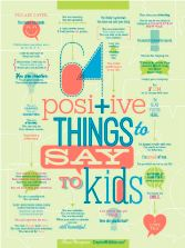 Encouraging Words for Kids - You never know the words that your kids will carry with them the rest of their lives. Add more positivity and encouragement with this list.
