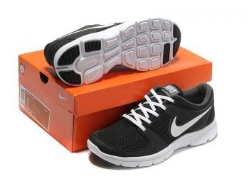 Cheap Nike Flex Experience RN Men Running Shoes Black / Wihte 525762-002 Sale UK - Nike Flex Experience Running Shoes