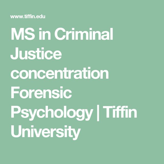 Psychosocial Theories in Criminal Justice