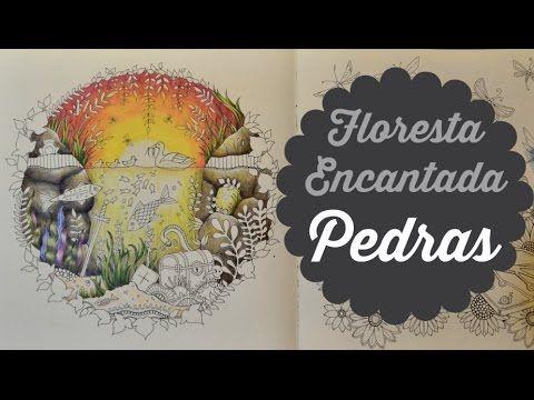 """No vídeo eu mostro como uso os lápis aquareláveis na """"função"""" aquarela. Demonstro fazendo um fundo crepúsculo no livro Romantic Country - The Third tale. Cré..."""
