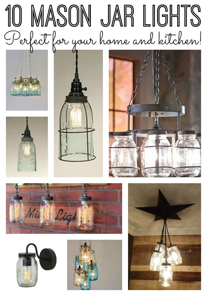 496 best farmhouse decor images on pinterest for Mason jar kitchen ideas
