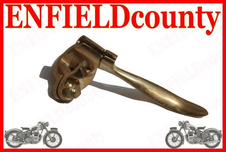 NEW ROYAL ENFIELD RARE PURE BRASS DECOMPRESSOR LEVER