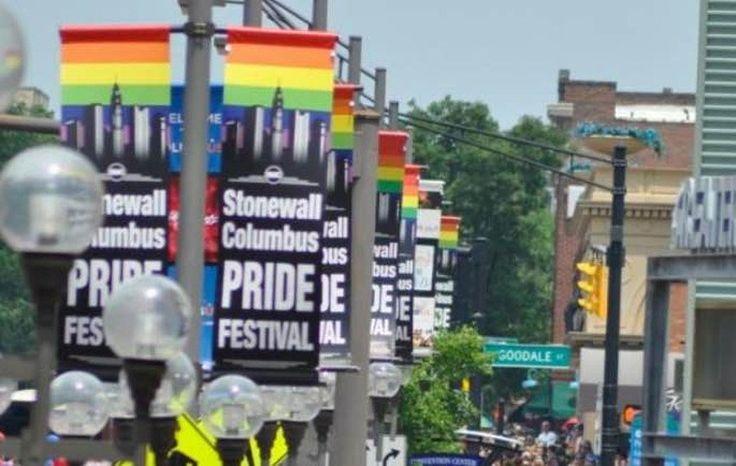 He said he hoped the Columbus Pride festival ends up like the 2013 Boston Marathon bombing