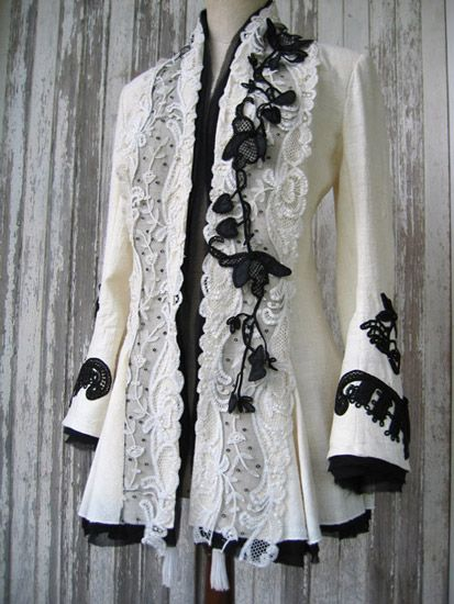 I actually have a lot of clothes similar to this. But maybe a few years from now when they're worn I'll make this. I'd have it symmetrical though.