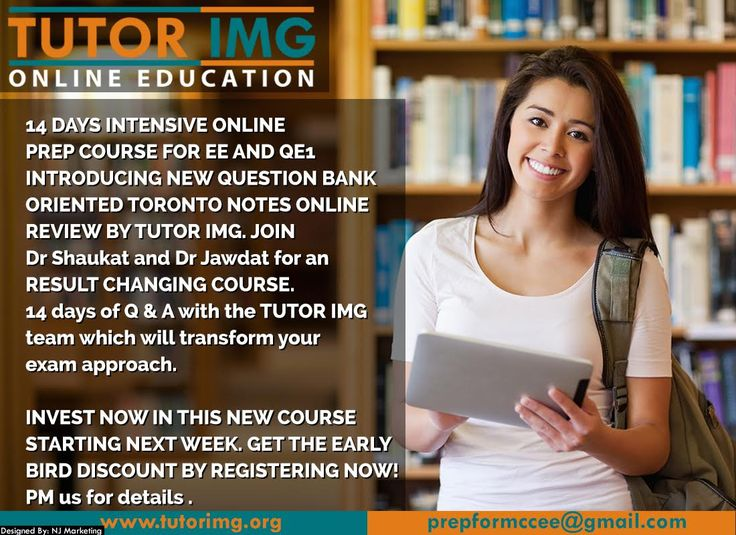 Boost your EE and QE1 exams scores now by registering today for live or recorded package covering Toronto notes 16 in detail Contact : +1 289-997-4620 & +1 705-303-8036 Email : prepformccee@gmai... Visit : www.tutorimg.com